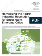 WEF Harnessing the 4IR for Sustainable Emerging Cities