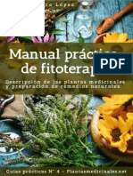 Guías Prácticas Nº 4 Pedro Moreiro López Manual Práctico de Fitoterapia Descripción de Las Plantas