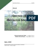 4.2.GestiondeproyectosSociales