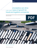 Advanced Analytics Can Drive the Next Wave of Growth for Travel and Logistics Companies