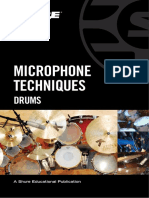 Microphone Techniques for Drums English