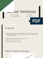 KLP 1 Metode Trapesium