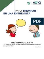 TRUCOS PARA TRIUNFAR Entrevista Universitaria