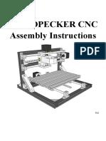 Instrucciones de Armado CNC SAG-18