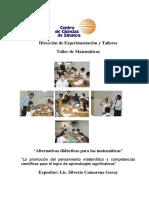 Alternativas didácticas para las matemáticas y aprendizajes significativo.pdf