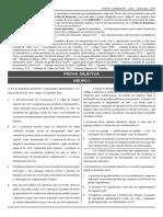 Caderno de Prova Objetiva - Ledor AGU 2016