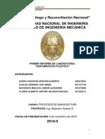 Informe 3 Trefilado Laminado Embutido Calderería y Repulsado