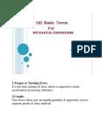 100 TERMINOS DE INGENIERIA