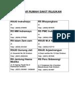 Media Informasi Di Pendaftaran