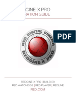 955-0004_v50 Rev-e Red Ps, Redcine-x Pro Operation Guide