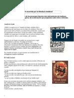Taller Literatura Medieval
