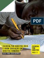331 e Book Edh Escreva Por Direitos 2018