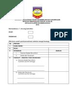 Borang Pencalonan Tokoh Koku 2018