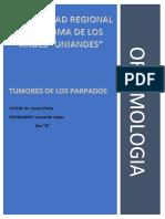 Tumores de Parpados