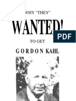 Why They Wanted to Get Gordon Kahl(1996) Ed