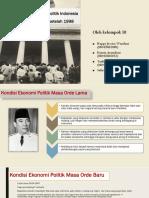 Analisa Kondisi Ekonomi Politik Indonesia Tahun 1945-1998