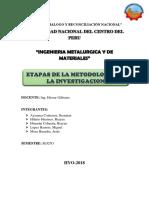 Etapas de La Metodologia de La Investigacion (1)