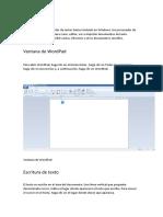 Qué Es WordPad