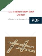 Farmakologi Sistem Saraf Otonom