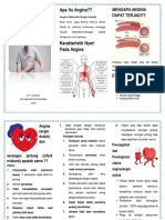 Leaflet Penyuluhan Kesehatan Angina