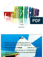 Properties of Color