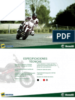 BENELLI-TNT-300 Manual de Partes 1