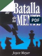38588428 El Campo de Batalla de La Mente Joyce Meyer