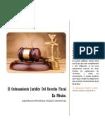 El Ordenamiento Jurídico Del Derecho Fiscal en México