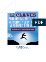 12 Claves Para Optimizar Tu Vida Personal