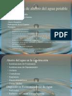 Medidas de Ahorro Del Agua Potable