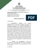 Despacho Denuncia Ministerio Publico