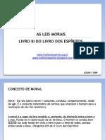 RESUMO Leis Morais