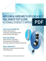 New Clinical Guidelines Off-Load and Help Heal Diabetic Foot Ulcers