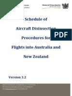 Aircraft Disinsection