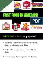 Fast Food in America[1][1]