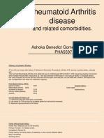 rheumatoid arthritis case presentation