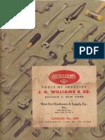 JH Williams Catalog No 504 1960