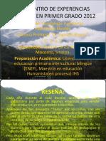 Presentacion- Experiencias Exitosas 2012- Humberto