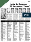 377 doctorados falsos - I
