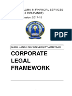 Corporate Leagal Framework 3
