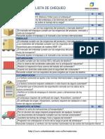 Check List Formulario