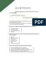 4c a Better Life