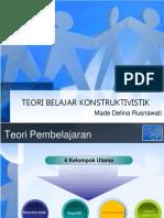 Teori Belajar Kontruktivistik - Copy
