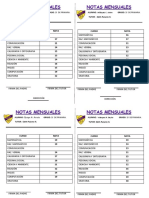 Notas de Examenes Primaria