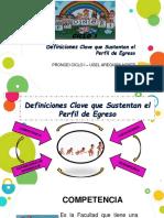 Definiciones Clave Perueduca