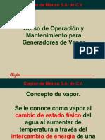 Curso de Operación de una caldera