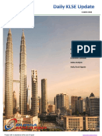 Daily Klse Report Malaysia 13th Nov 2018
