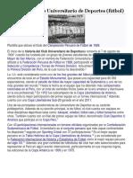 Historia Del Club Universitario de Deportes