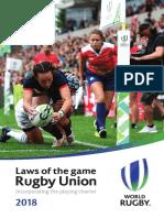 World Rugby Laws 2018 En