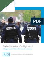 Global Terrorism Whitepaper